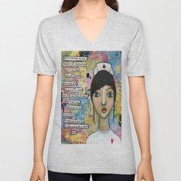 Nurse Unisex V-Neck