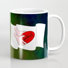 Japan Rugby Flag Coffee Mug