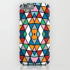 Geo Outline Colour iPhone 6s Slim Case