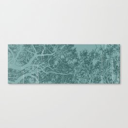 Branches one Yoga mat Canvas Print