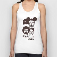 justin timberlake Tank Tops featuring You Are Here by Justin Cooper