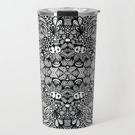 Zentangle  Travel Mug