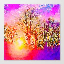 Dawn in Me Canvas Print