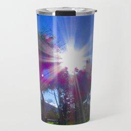 Star Pattern Sunlight Travel Mug
