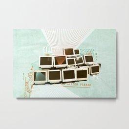 Discard Land Metal Print