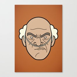 Faces of Breaking Bad: Hector Salamanca Canvas Print