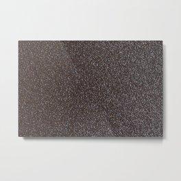 Bronze Glitter Metal Print
