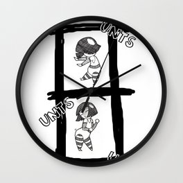 Variation on a Dance Party Wall Clock