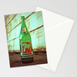 Nostalgic 7up bottle Stationery Cards