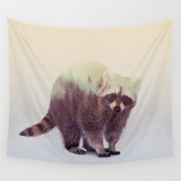 Little Ones: Raccoon Wall Tapestry