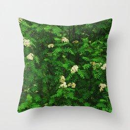 Greenery II Throw Pillow