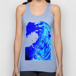 Save The Water Watercolour Unisex Tank Top
