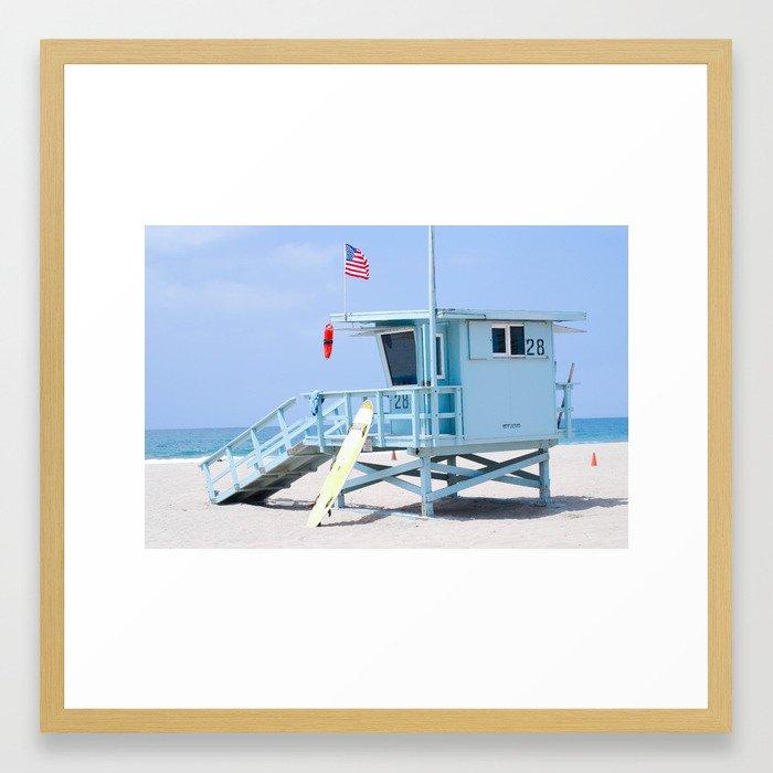 Tower 28, Santa Monica, CA Framed Art Print