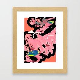Big Alphabet Framed Art Print