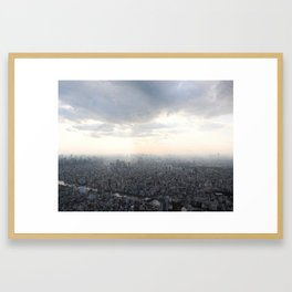Unlimited city Framed Art Print