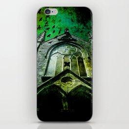 Gothic church iPhone Skin