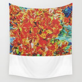 Poinciana Wall Tapestry
