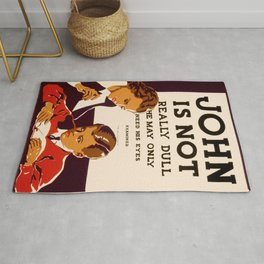 Vintage poster - Have Your Eyes Examined Rug