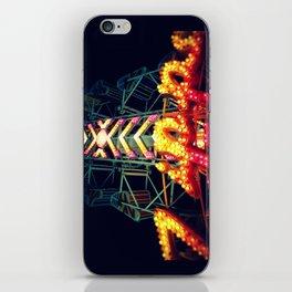Carnival Lights, The Zipper iPhone Skin