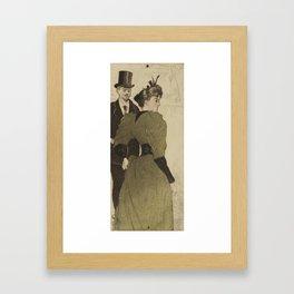 On the Boulevards (Sur les boulevards) Eugène Delâtre (1864 - 1938) Framed Art Print