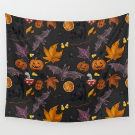 October pattern Wall Tapestry