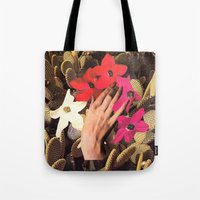 oasis Tote Bags featuring OASIS by Beth Hoeckel