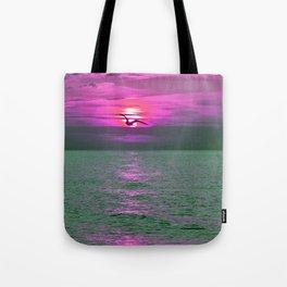 Romantic Sunset Tote Bag