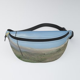 Near beach of Phare de la Coubre at te Atlantic Ocean Fanny Pack