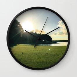 Tee Views Wall Clock