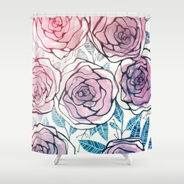 Ode to Summer Shower Curtain