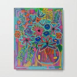 Fiesta Bloom Metal Print