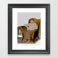 HARMCHAIR Framed Art Print