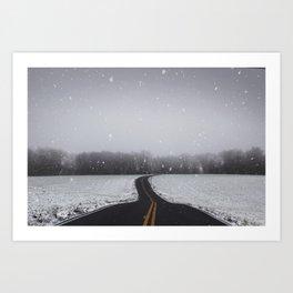 Morning Travels Art Print