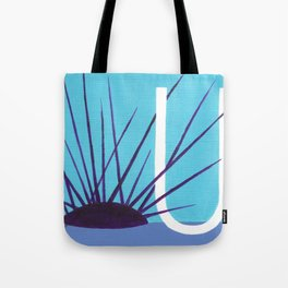 U is for Urchin Tote Bag