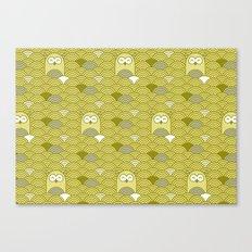owl pattern Canvas Print