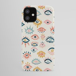 Mystic Eyes – Primary Palette iPhone Case