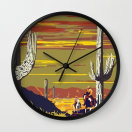 National Parks 2050: Sagauro Wall Clock
