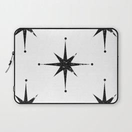 black 8 point stars Laptop Sleeve