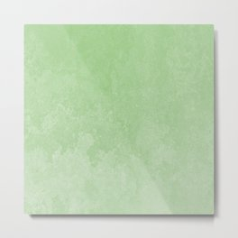 Green Earth Grunge Background Metal Print