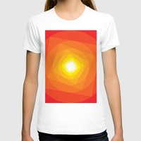 gradient T-shirts featuring Gradient Sun by Fimbis
