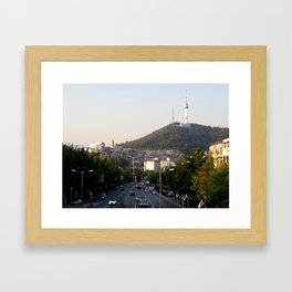 Itaewon Freedom Framed Art Print