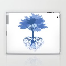 Heart Tree - Blue Laptop & iPad Skin