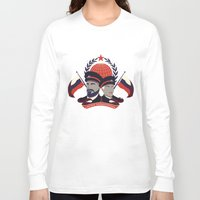 pacific rim Long Sleeve T-shirts featuring Pacific Rim: Brave Kaidanovskys by MNM Studios