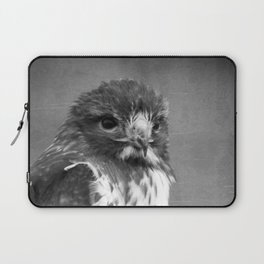 Red-tailed Hawk III BW Laptop Sleeve