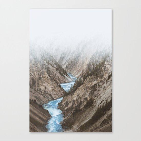 Faded Creek Canvas Print