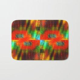 Spectrum Orange Bath Mat