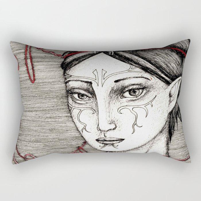 Merrill: ball of twine Rectangular Pillow