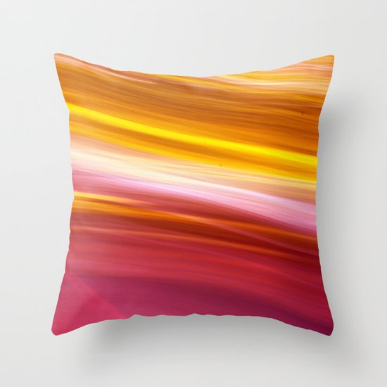 Spinning in Circles Throw Pillow