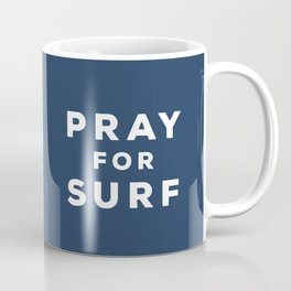 Pray For Surf - Indigo Edition Coffee Mug