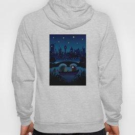 Hedgehogs in the night Hoody